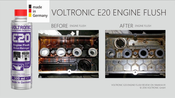Voltronic Additive - E20 Engine Flush