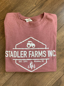 Stadler Farms mauve long sleeve