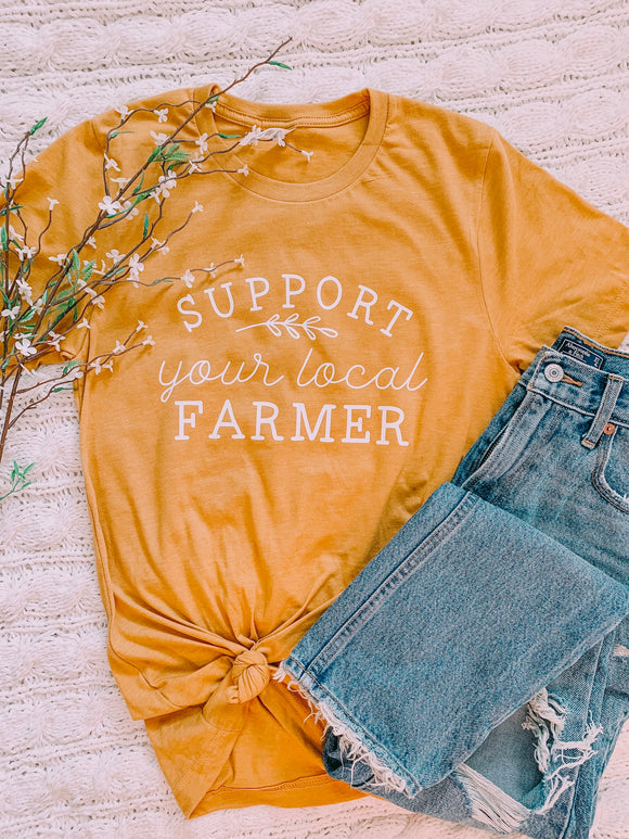 Support your local farmer adult