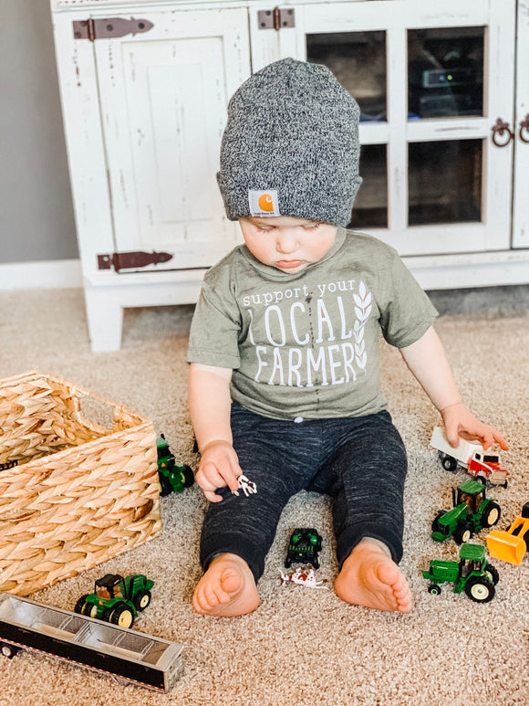 Support your local farmer /toddler