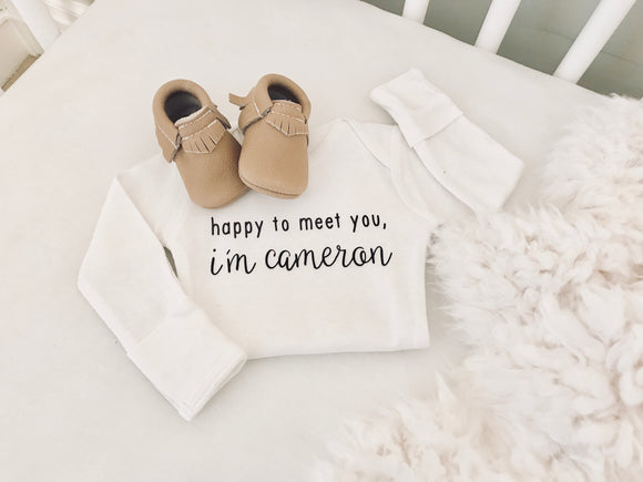Newborn - Bringing home Baby Personalized