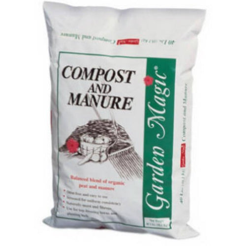 Garden Magic Compost & Manure - 40Lb Bag
