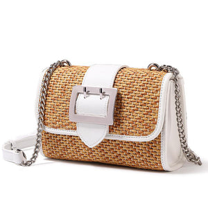 Cane-Knitted Bag