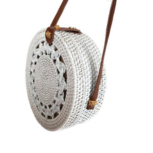 Load image into Gallery viewer, White Bali Bag