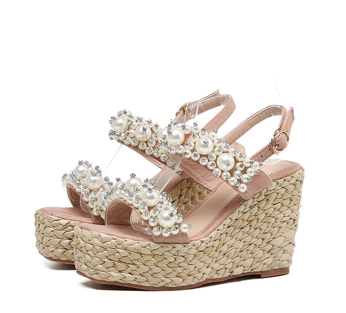 Rhinestone Wedge