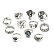 Load image into Gallery viewer, Sapphire Ring Set