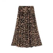 Load image into Gallery viewer, Madi Leopard Skirt