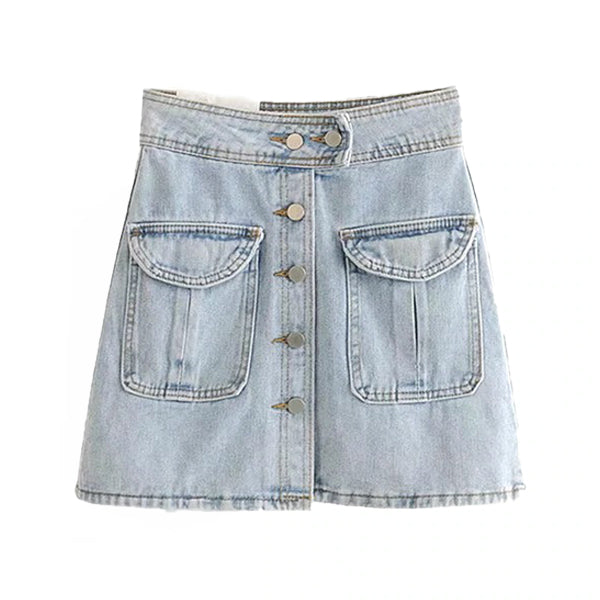 Camilla Denim Skirt