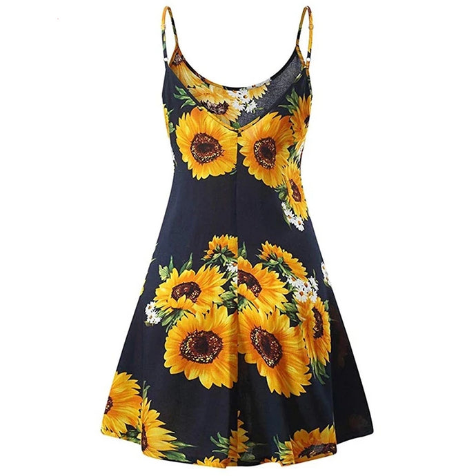 Sunflower Mini Dress