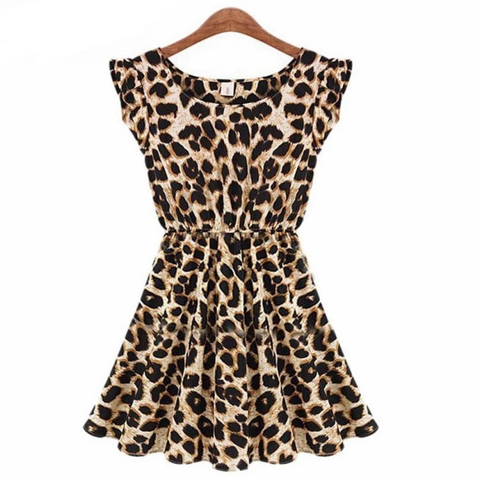 Saisha Leopard Dress