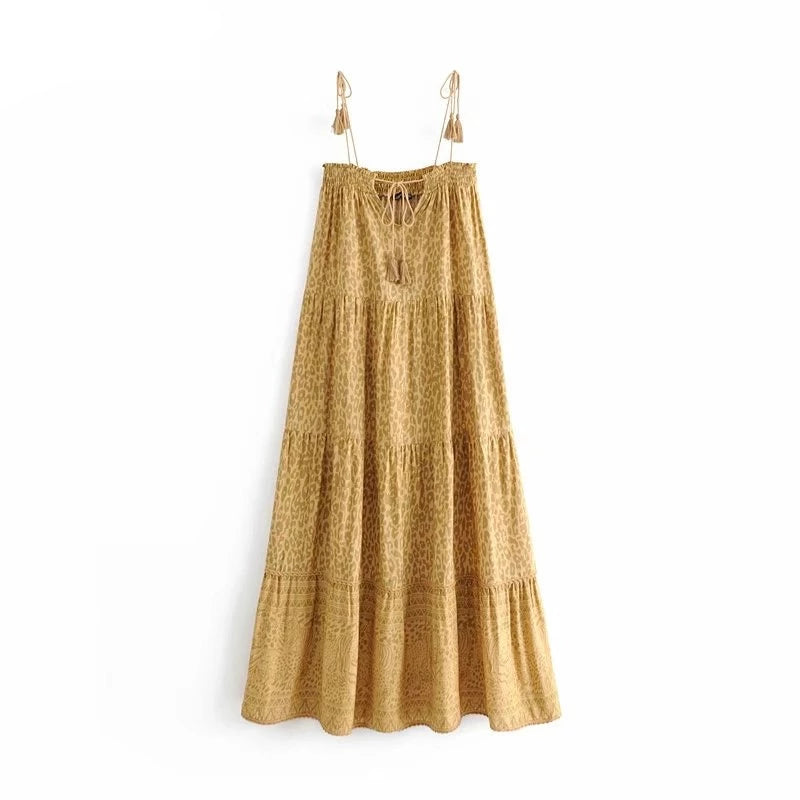 Calla Tassel Dress
