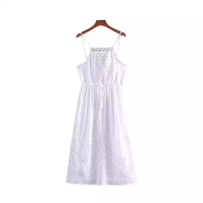 Briallen White Dress