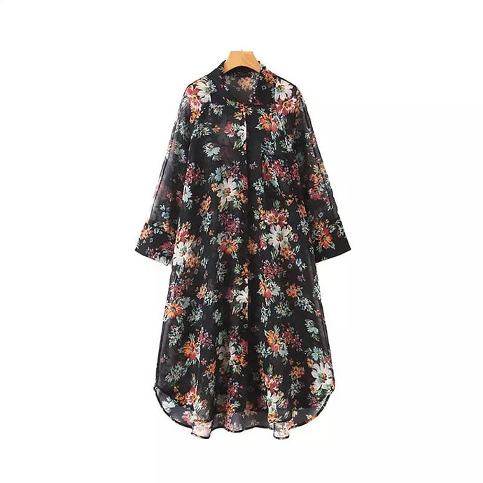 Diantha Floral Dress