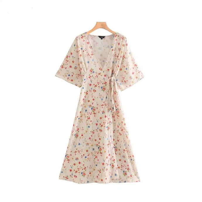 Forsythia Floral Dress