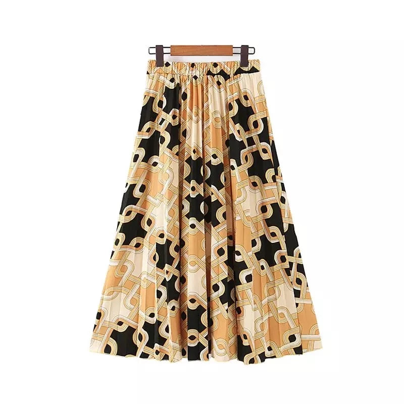 Tansy Pleated Skirt
