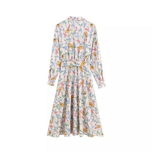 Ricinus Floral Dress