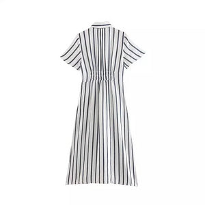 Josephine Stripe Dress