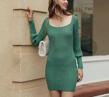 Load image into Gallery viewer, Addison Sweater Dress