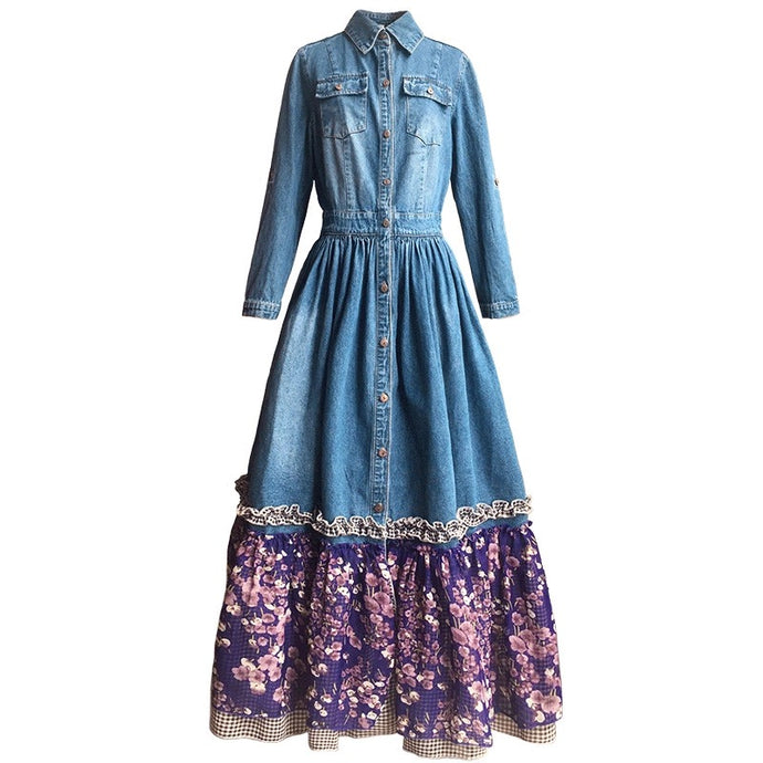 Emilia Denim Dress