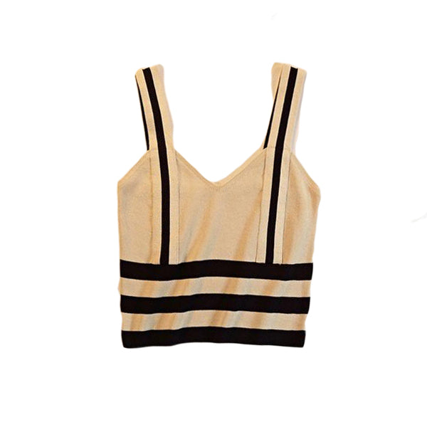 Stripe Tank Crop