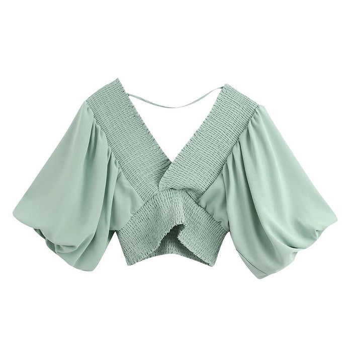Jade Crop Top