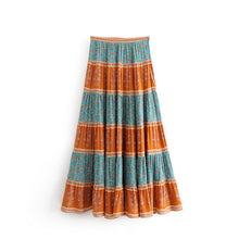 Load image into Gallery viewer, Long Stripe Skirt