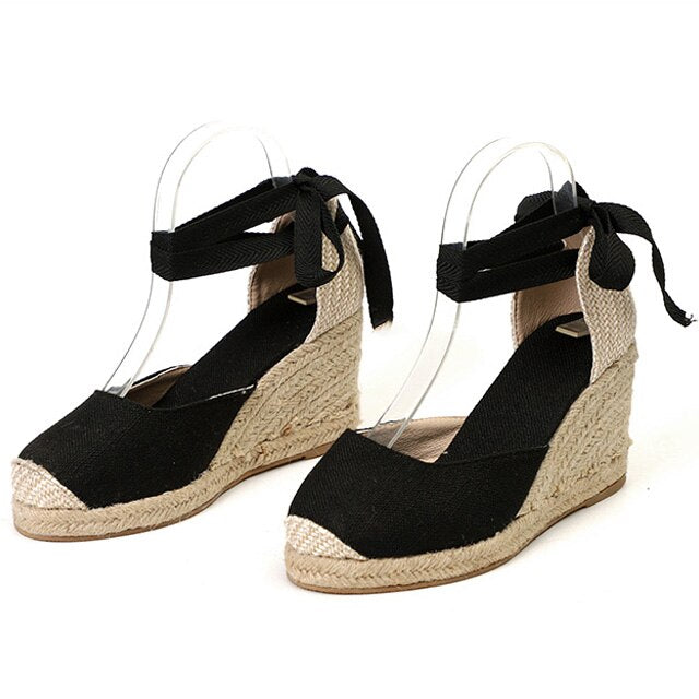Shallow Wedge Heel