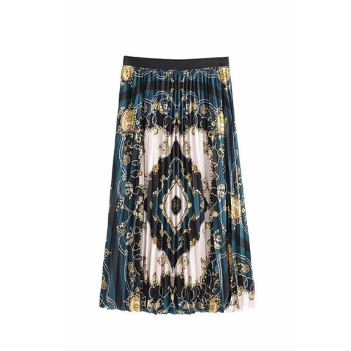 Cavansite Midi Skirt