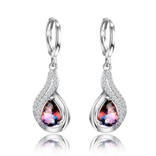Load image into Gallery viewer, Water Drop Silver Earring
