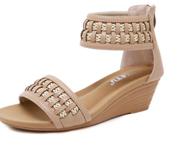 The Wedge Sandal