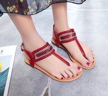 Load image into Gallery viewer, T-Strap Sandal