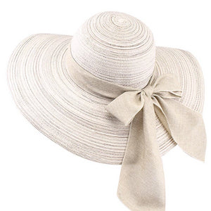 White Summer Hat