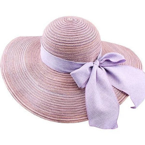 Purple Summer Hat