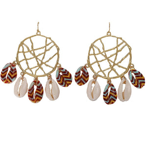 Bali Shell Earrings