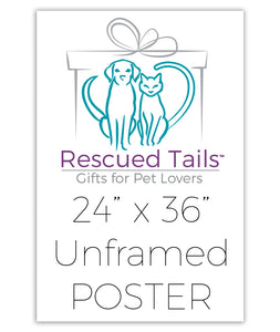PRINTED POSTER Pet Portrait