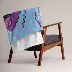 """Faro"" Throw Blanket"