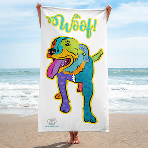 """Travis"" Beach Towel"