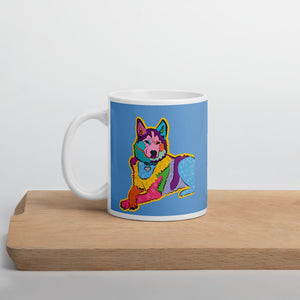 """Bella"" Husky Mug, available in 2 sizes"