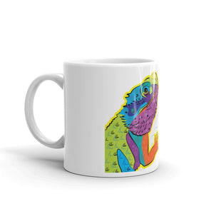 """Goldie the Bearded Dragon"" Mug, available in two sizes"