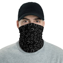 Load image into Gallery viewer, Horseshoe Face Mask in black