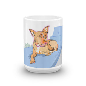 """Chloe"" the dog Mug"