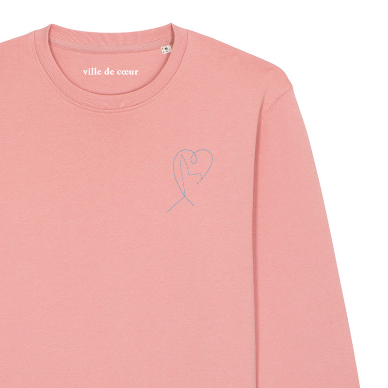 Sweatshirt Canyon Pink