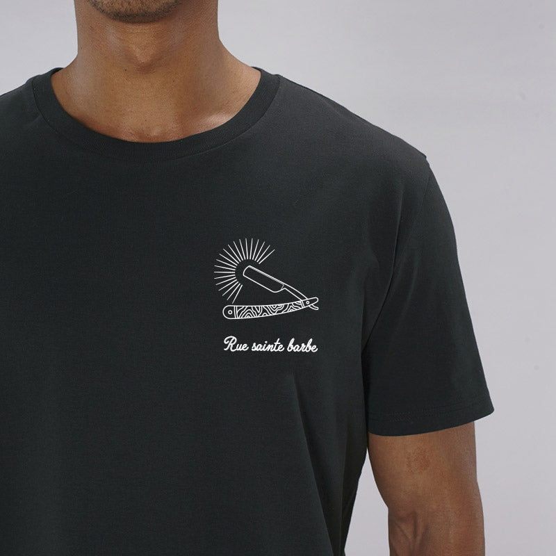 T-shirt noir rue sainte barbe