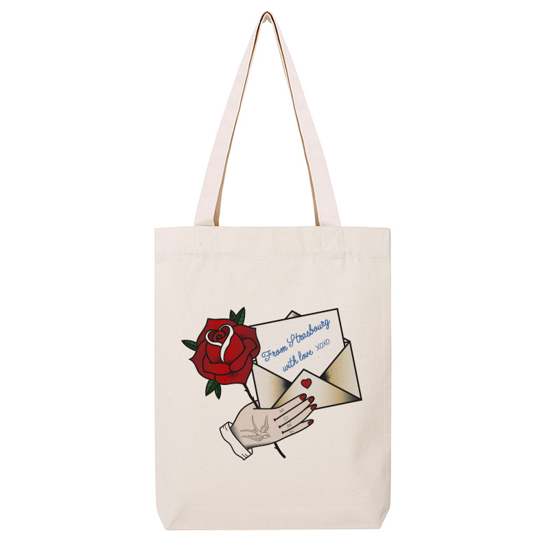 Tote Bag From Strasbourg with love