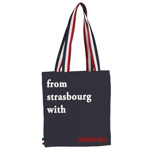 tote bag from strasbourg with amour
