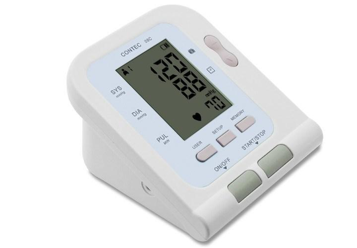 Blood Pressure Monitors - Contec 08C Digital Ambulatory BP Monitor With Pulse Oximeter