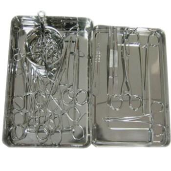 Surgical Instruments - Basic Surgery Set (24 Piece)