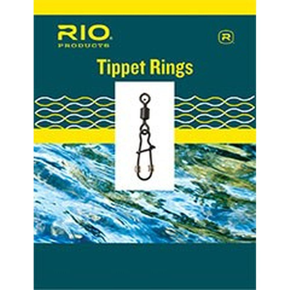 RIO Steelhead Tippet Ring 10-pack 45lb/3mm