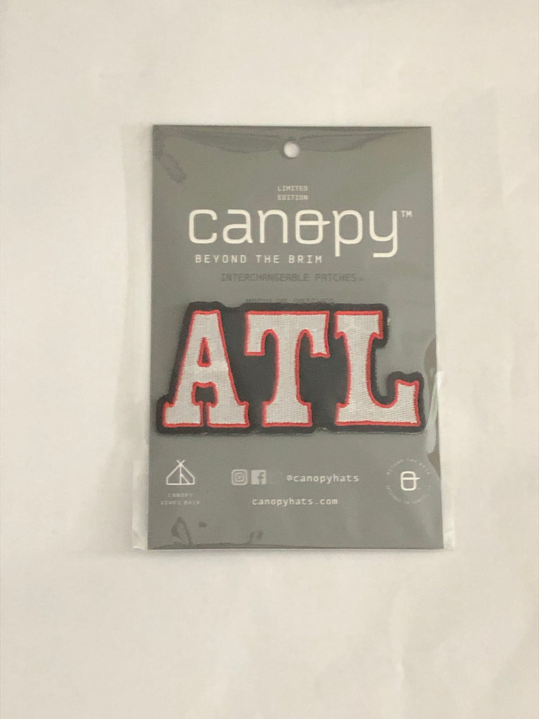 Atlanta - White, Red, & Black
