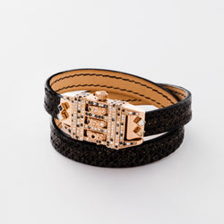 CODE LEATHER CONFETTI BLACK